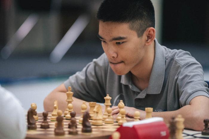 Молодой американский шахматист Джеффри Шонг