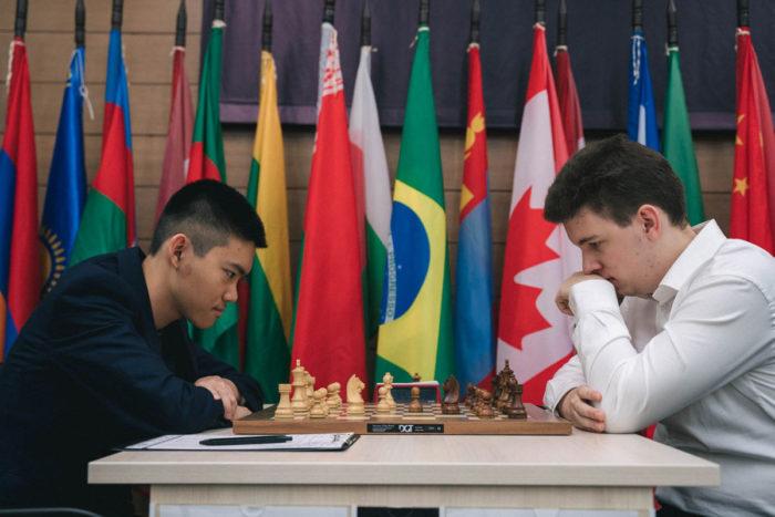 Джеффри Шонг (США) и Ян-Кшиштоф Дуда (Польша). Кубок мири по шахматам 2019