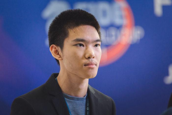 Американский шахматист Джеффри Шонг (Jeffery Xiong)