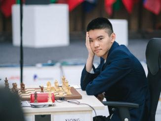 Американский шахматист Джеффри Шонг