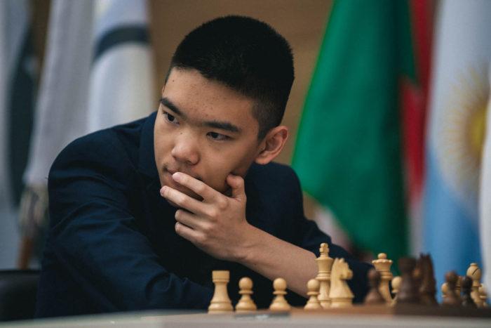 Джеффри Шонг на Кубке мира по шахматам 2019 (Ханты-Мансийск)