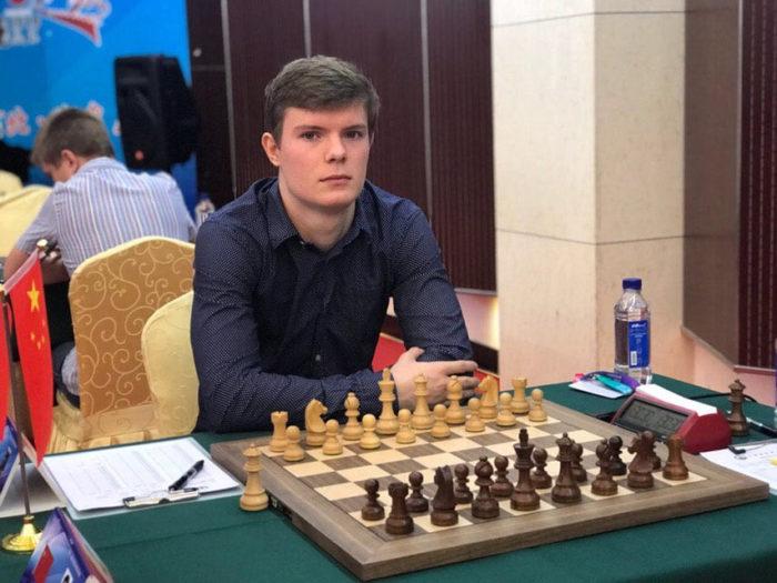 Шахматист Кирилл Алексеенко