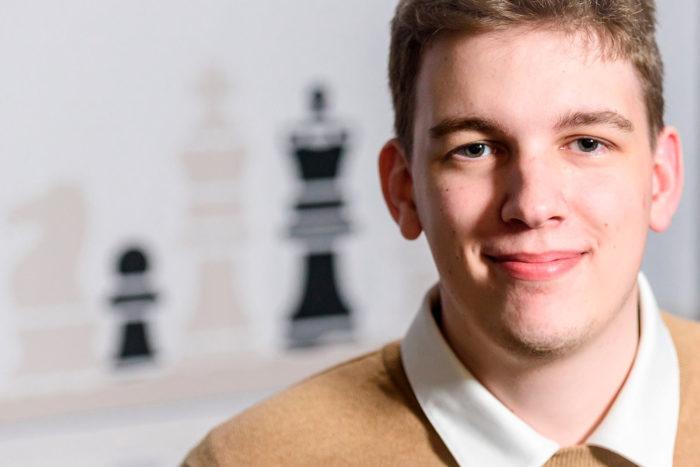 Польский шахматист Ян-Кшиштоф Дуда