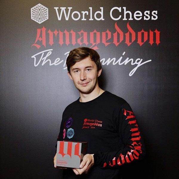 Сергей Карякин - победитель World Chess Armageddon 2019