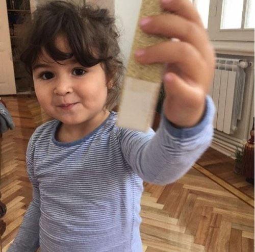 Дочь шахматиста Теймура Раджабова Марьям