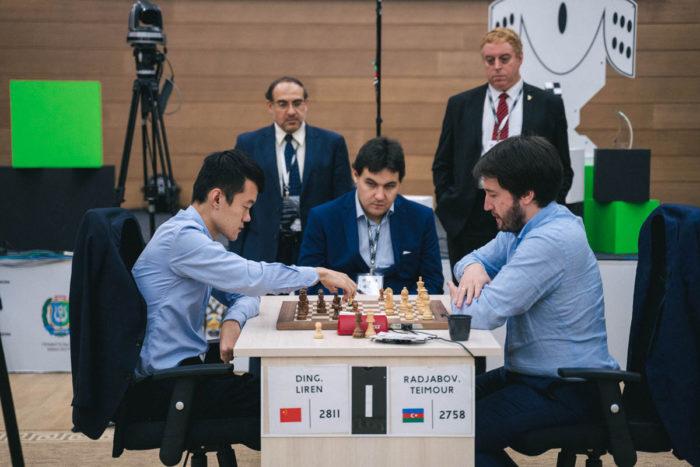 Финалисты Кубка мира по шахматам 2019 Дин Лижэнь и Теймур Раджабов
