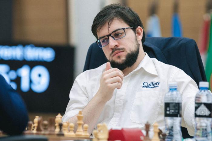 Шахматист Максим Вашье-Лаграв (Кубок мира ФИДЕ 2019)