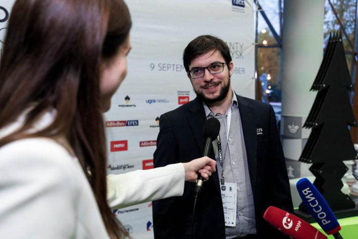 Максим Вашье-Лаграв (Франция) - серебряный призер Кубка мира по шахматам 2019