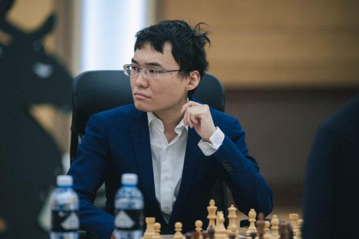 Китайский шахматист Юй Янъи (Yu Yangyi). Кубок мира 2019, Ханты-Мансийск