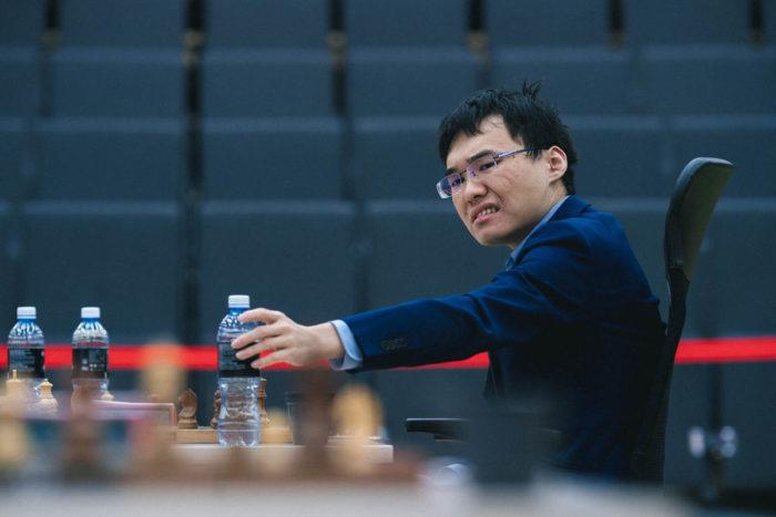 Китайский шахматист Юй Янъи (Ханты-Мансийск, 2019)