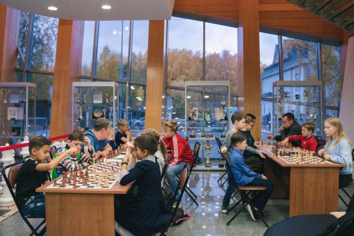 Занятия с детьми в рамках Кубка мира по шахматам 2019