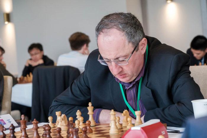 Израильский шахматист Борис Гельфанд (остров Мэн 2019)