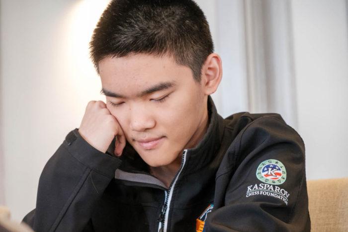 Джеффри Шонг (Jeffery Xiong). Шахматный турнир Grand Swiss 2019 на острове Мэн