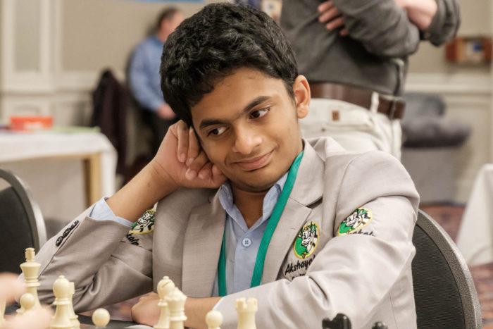 Индийский шахматный вундеркинд Нихал Сарин (остров Мэн 2019)