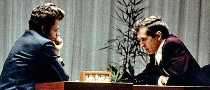 Борис Спасcкий и Бобби Фишер. Рейкьявик, 1972 год