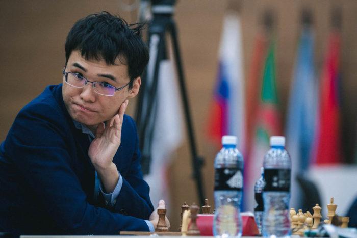 Китайский шахматист Юй Янъи (Yu Yangyi)