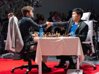 Чемпионат мира по шахматам Фишера 2019. Карлсен признает свое поражение