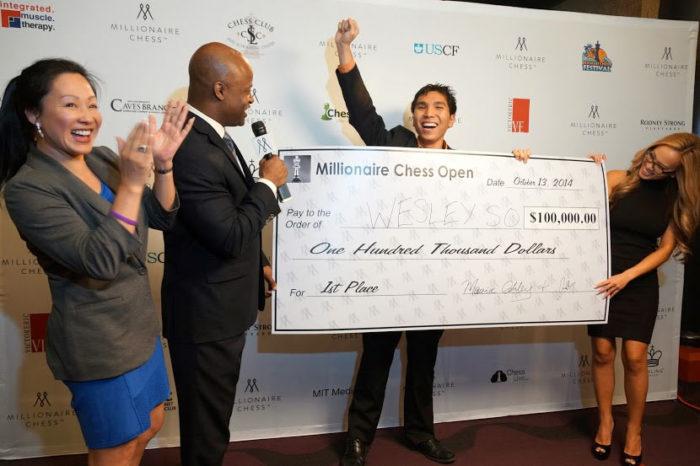 Победитель турнира миллионеров 2014 по шахматам - Уэсли Со
