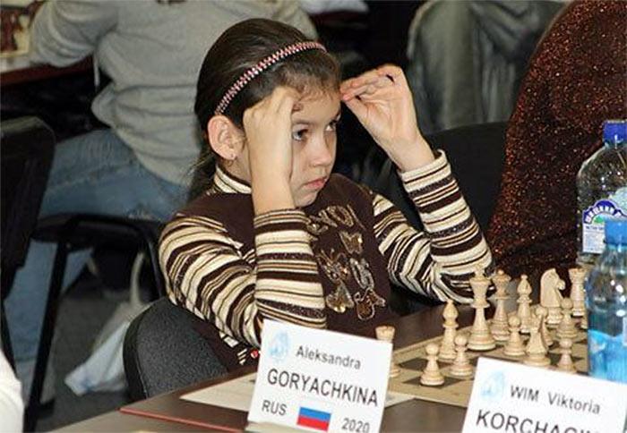 Александра Горячкина на Мемориале Людмилы Руденко (Санкт-Петербург, 2011)
