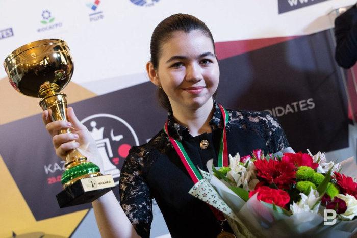 Шахматистка Александра Горячкина - победительница турнира претенденток 2019