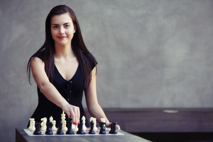 Шахматистка Александра Ботез