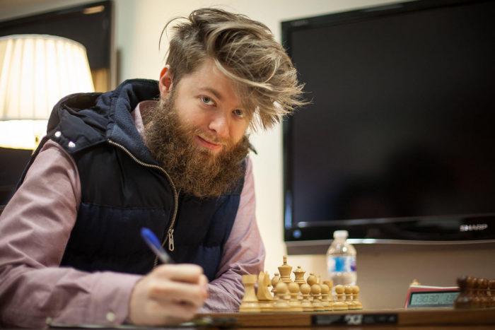 Канадский шахматист Аман Хэмблтон (Aman Hambleton)