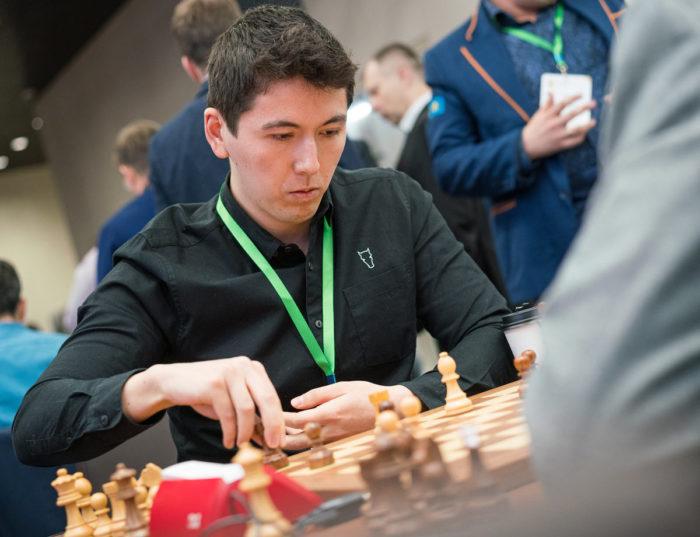Канадский гроссмейстер Эрик Хансен (Eric Hansen)