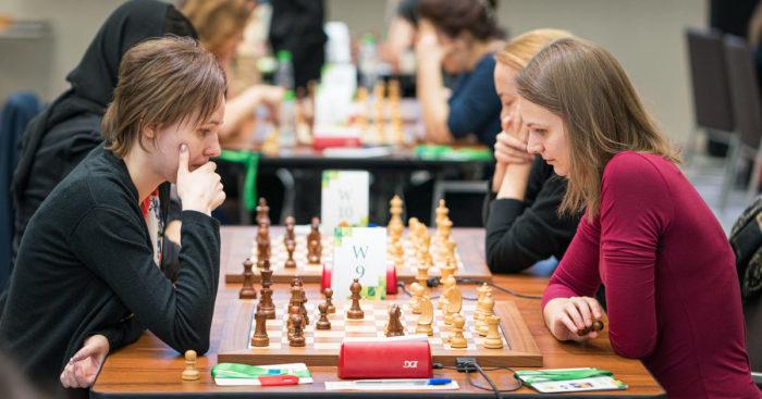 Мария и Анна Музычук. Чемпионат мира по блицу 2019