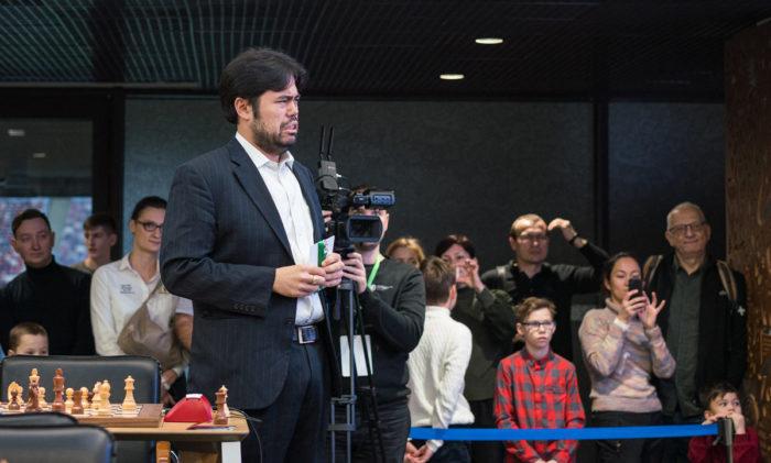Американский шахматист Хикару Накамура. Чемпионат мира по блицу 2019