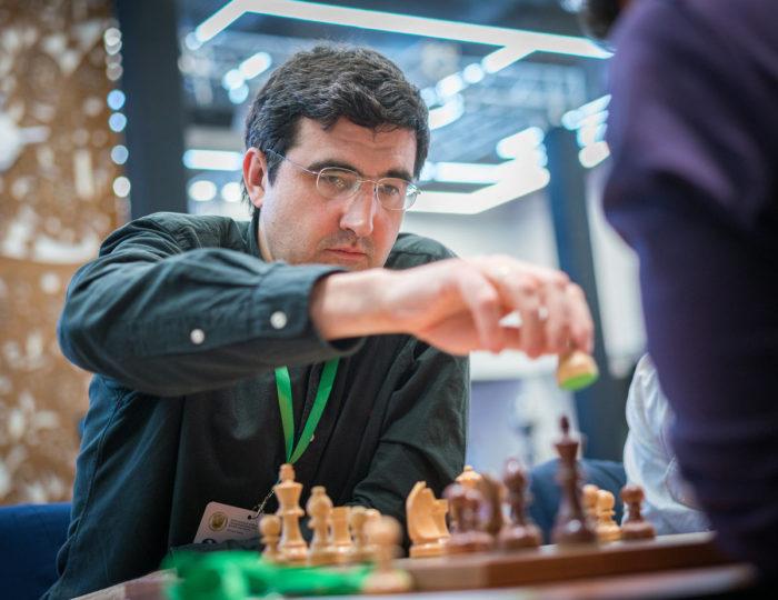 Владимир Крамник. Чемпионат мира по блицу 2019