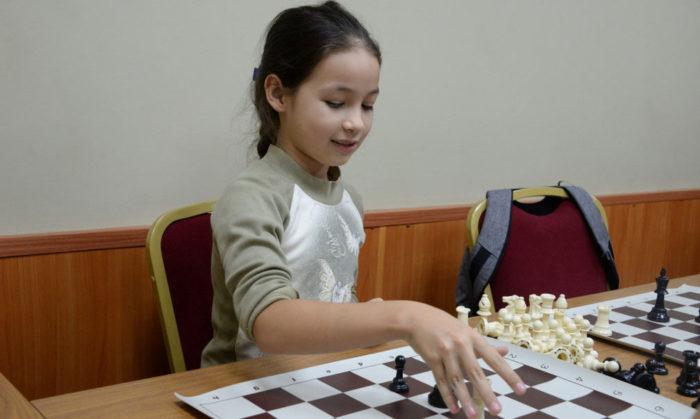 Оксана Горячкина - младшая сестра гроссмейстера Александры Горячкиной