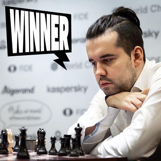 Ян Непомнящий - победитель четвертого этапа серии Гран-при FIDE в Иерусалиме 2019