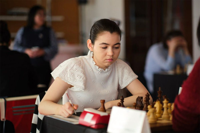 Александра Горячкина (шахматы Монако 2019)