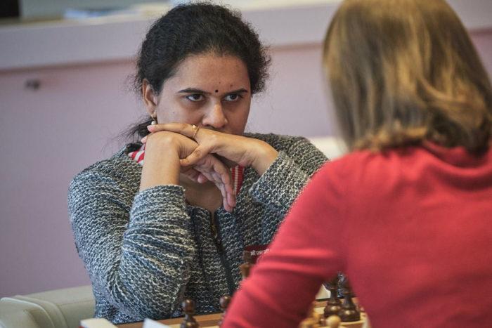 Хампи Конеру (шахматы Монако 2019)