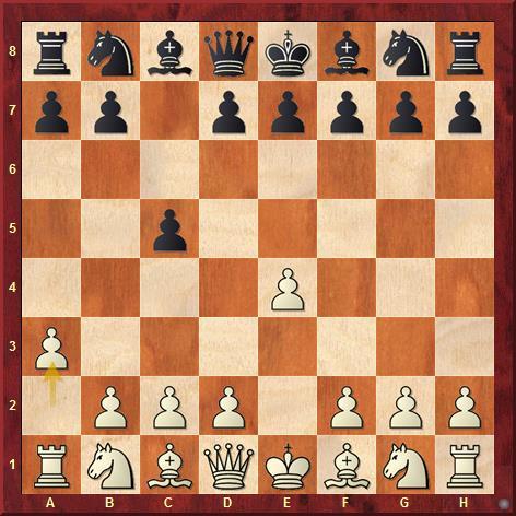 Современная анти-сицилианка начинается ходами 1. e4 c5 2. a3
