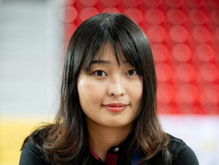 Китайская шахматистка Цзюй Вэньцзюнь (Ju Wenjun) - семнадцатая чемпионка мира по шахматам