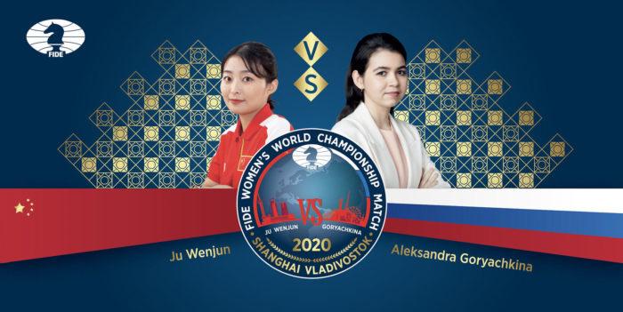 Матч Горячкина Цзюй Вэньцзюнь на первенство мира 2020