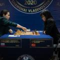 Александра Горячкина и Цзюй Вэньцзюнь. Матч на первенство мира по шахматам 2020 среди женщин