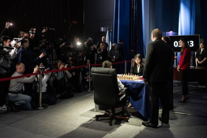 Матч Цзюй Вэньцзюнь - Горячкина 2020 за первенство мира по шахматам