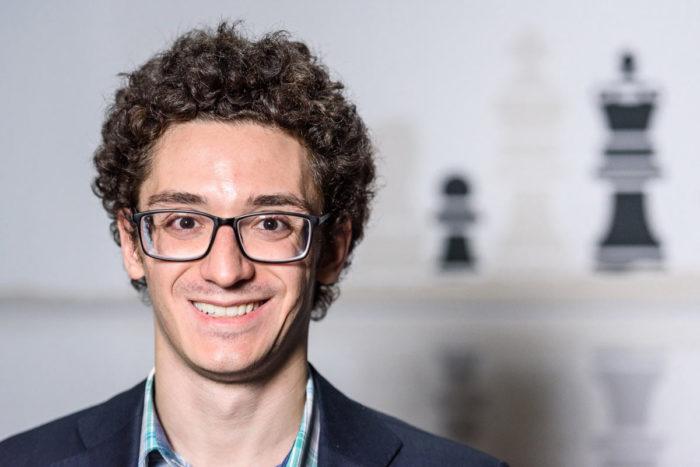 Шахматист Фабиано Каруана (США)