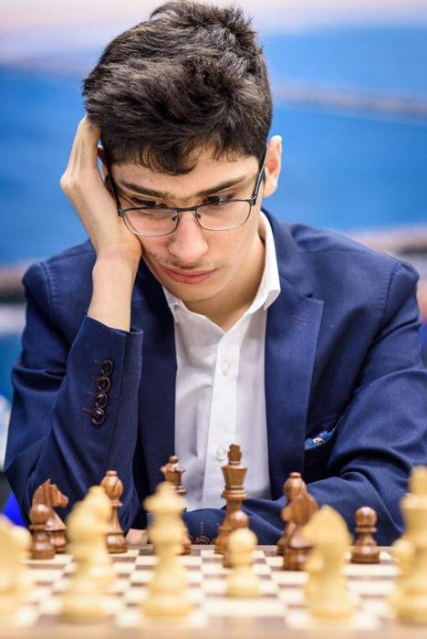 Иранский шахматист Алиреза Фируджа (Вейк-ан-Зее 2020)