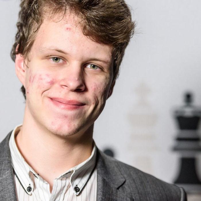 Шахматист Владислав Артемьев (Вейк-ан-Зее 2020)