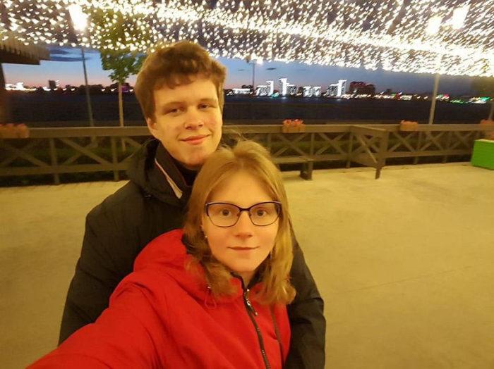Шахматист Владислав Артемьев с женой Ольгой Беловой