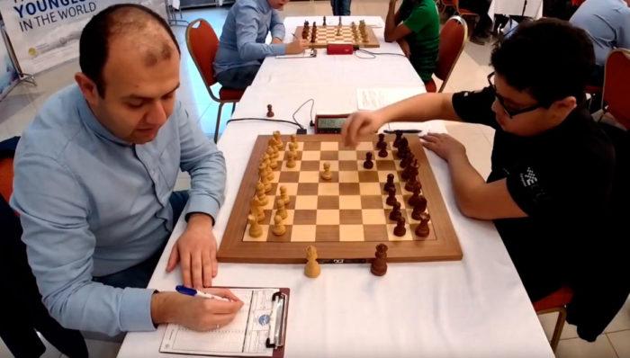 Рауф Мамедов и Айдын Сулейманлы