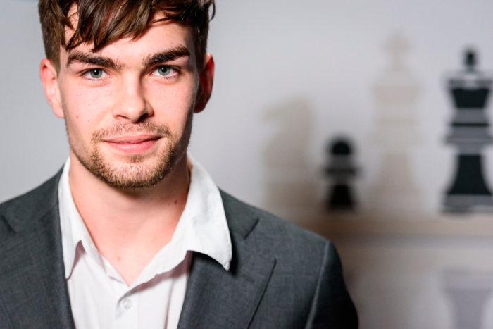 Йорден ван Форест - молодой шахматист из Голландии