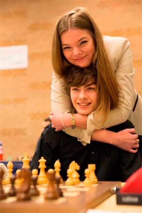 Иногда Йорден и Соня встречаются и на турнирах