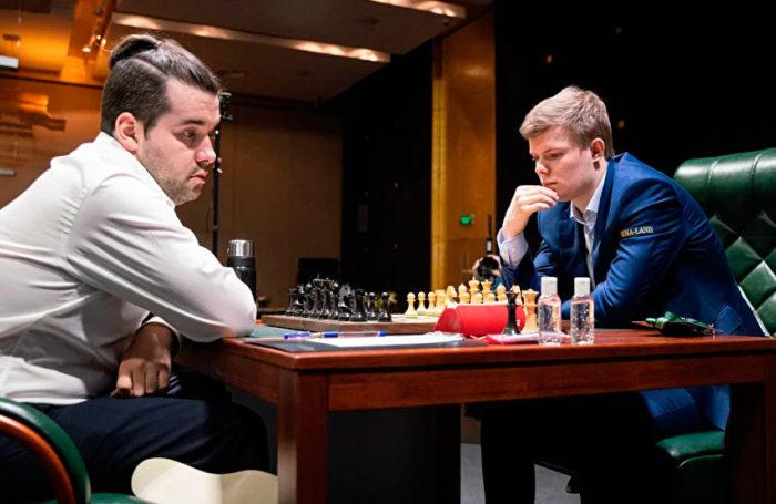 Ян Непомнящий и Кирилл Алексеенко. Турнир претендентов по шахматам 2020