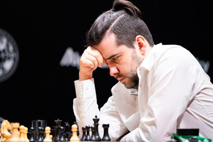Ян Непомнящий. Турнир претендентов по шахматам 2020, тур 7