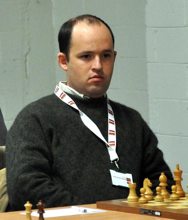 Шахматист Борис Аврух