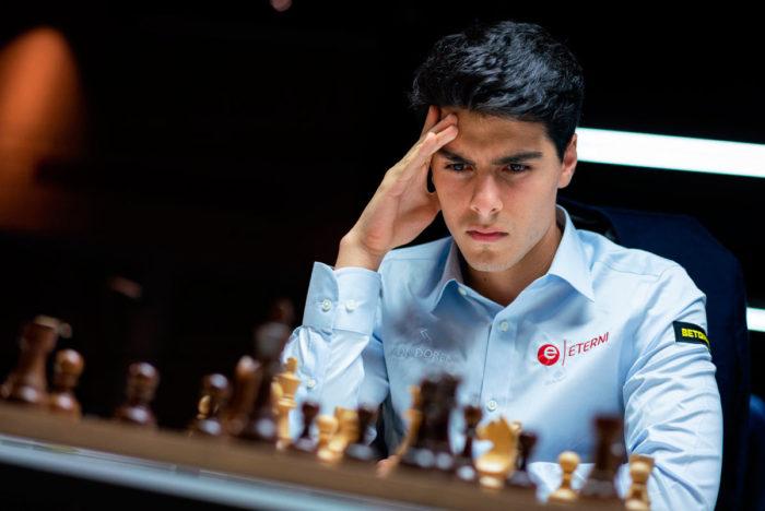 Шахматист Арьян Тари (Ставангер, 2020)